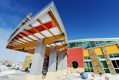 The architectural style created by Sapp Design Associates for the new Irving Elementary School Thursday afternoon, Jan. 2, 2014. Globe | T. Rob Brown